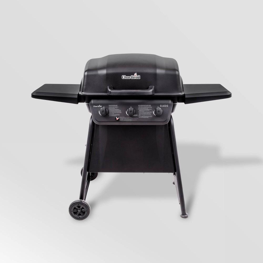 Image of Char-Broil Classic 3-Burner 30,000 BTU Gas Grill 463773717 - Black