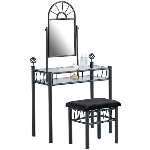 Kids Vanity Set Black - Lifestyle Solutions - image 1 of 1