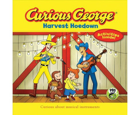 Curious George Harvest Hoedown (Hardcover) (H. A. Rey) - image 1 of 1
