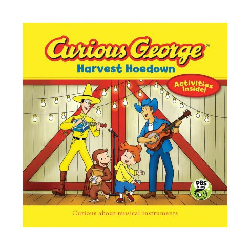 Curious George Harvest Hoedown (Cgtv 8 X 8) - by  H A Rey (Paperback) - image 1 of 1