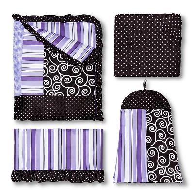 Sweet Jojo Designs 11pc Kaylee Crib Set
