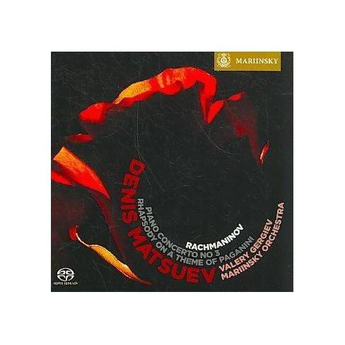 Rachmaninov: Piano Concerto No. 3, Rhapsody On A Theme Of Paganinirachmaninov: Piano Concerto No. 3, - image 1 of 1