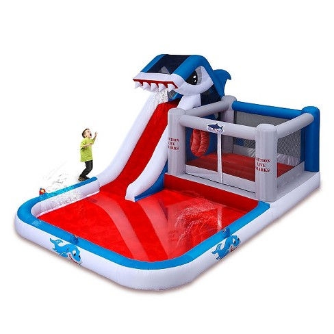 Blast Zone Shark Park Inflatable Play Park - image 1 of 1