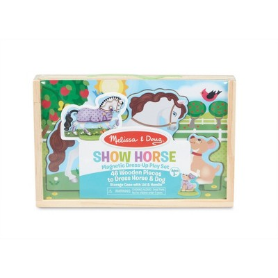 Melissa & Doug Magnetic Dress-Up Play Set - Show Horse