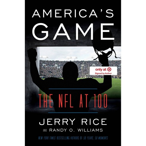 America's Game - Target Exclusive by Jerry Rice (Hardcover) - image 1 of 1