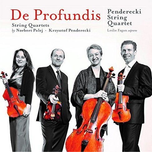 Penderecki String Qu - De Profundis (CD) - image 1 of 1