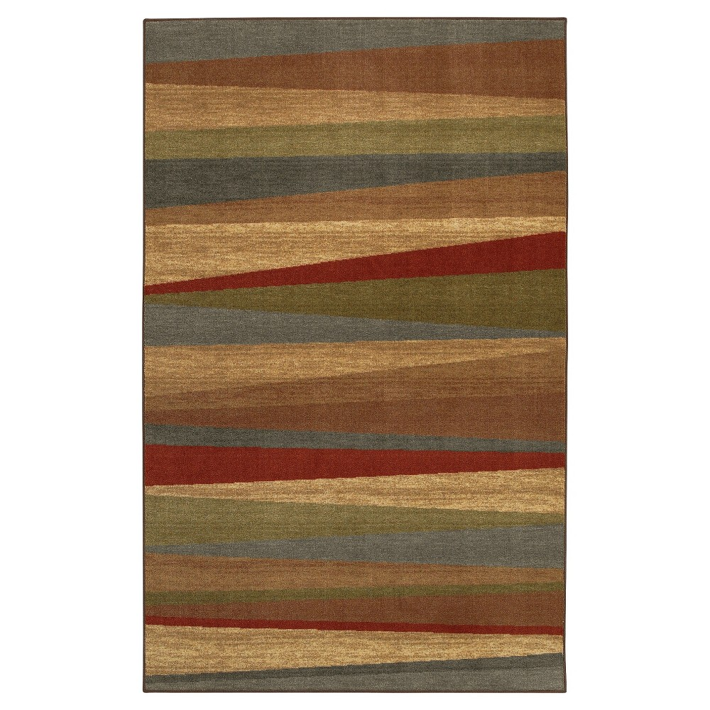 Image of 5'x8' Mayan Sunset Area Rug - Mohawk, Size: 5'X8'