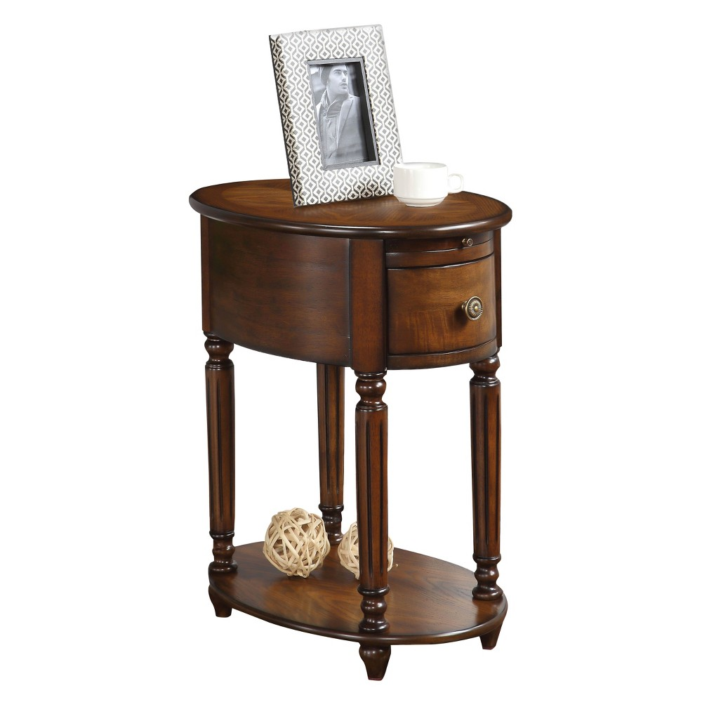 End Table Dark Oak, Accent Tables