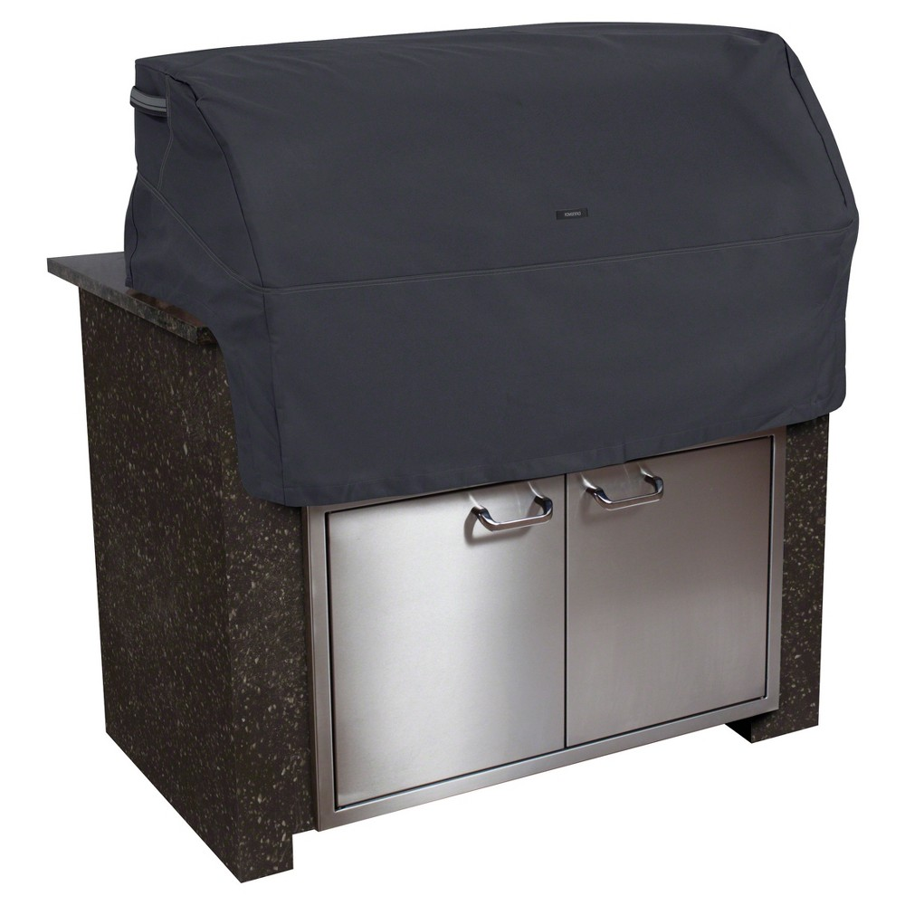 Ravenna Built In Bbq Grill Top Cover, Medium, Black - Black - Classic Accessories