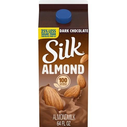 Silk Almond Dark Chocolate Almond Milk - 0.5gal - image 1 of 4