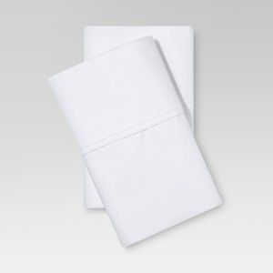 Standard/Queen 400 Thread Count Performance Pillowcase Set White - Threshold