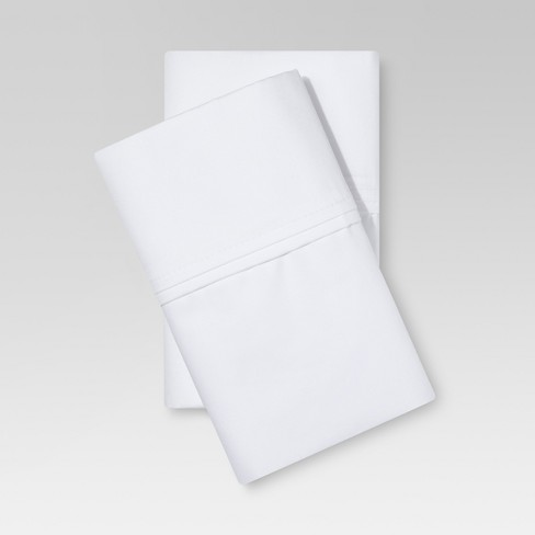 400 Thread Count Solid Performance Pillowcase Set - Threshold™ - image 1 of 1