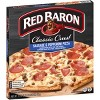 Red Baron Classic Sausage & Pepperoni Frozen Pizza - 21.9oz - image 3 of 4