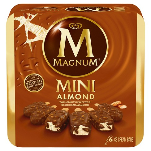 Magnum Mini Almond Ice Cream Bars - 6ct - image 1 of 2
