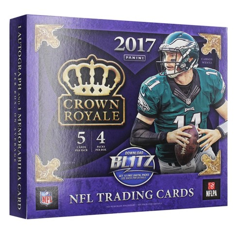 2017 NFL Crown Royale Football Trading Card Full Box - image 1 of 2