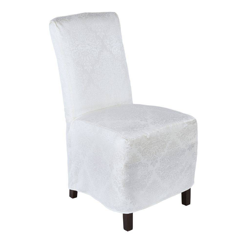 "Image of ""18""""X24"""" Lexington Chaircover White - Town & Country Living"""