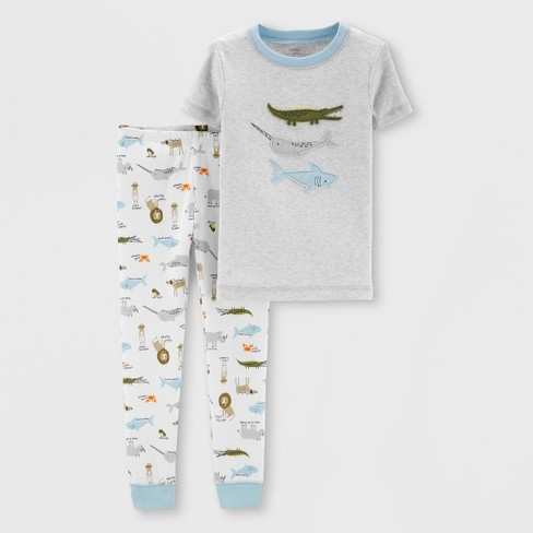 7504ba438b Little Planet Organic By Carter s Toddler Boys  Animals Pajama Set ...