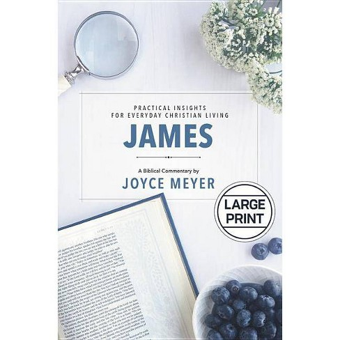 James - (Deeper Life) by  Joyce Meyer (Hardcover) - image 1 of 1