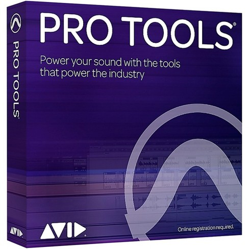 Avid Pro Tools NEW Perpetual License with 1-Year of Updates + Support  (Boxed) - image 1 of 2