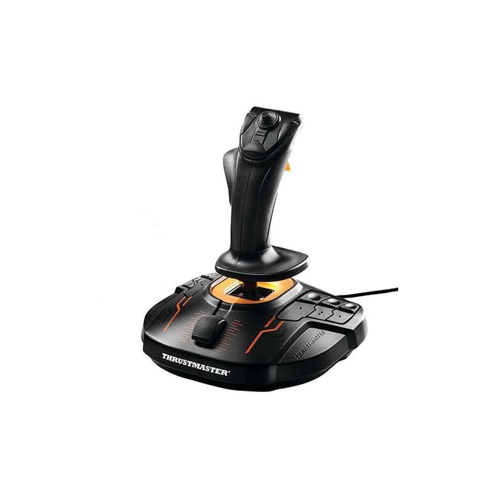 Guillemot T-16000 Fcs Flight Stick for PC, Black