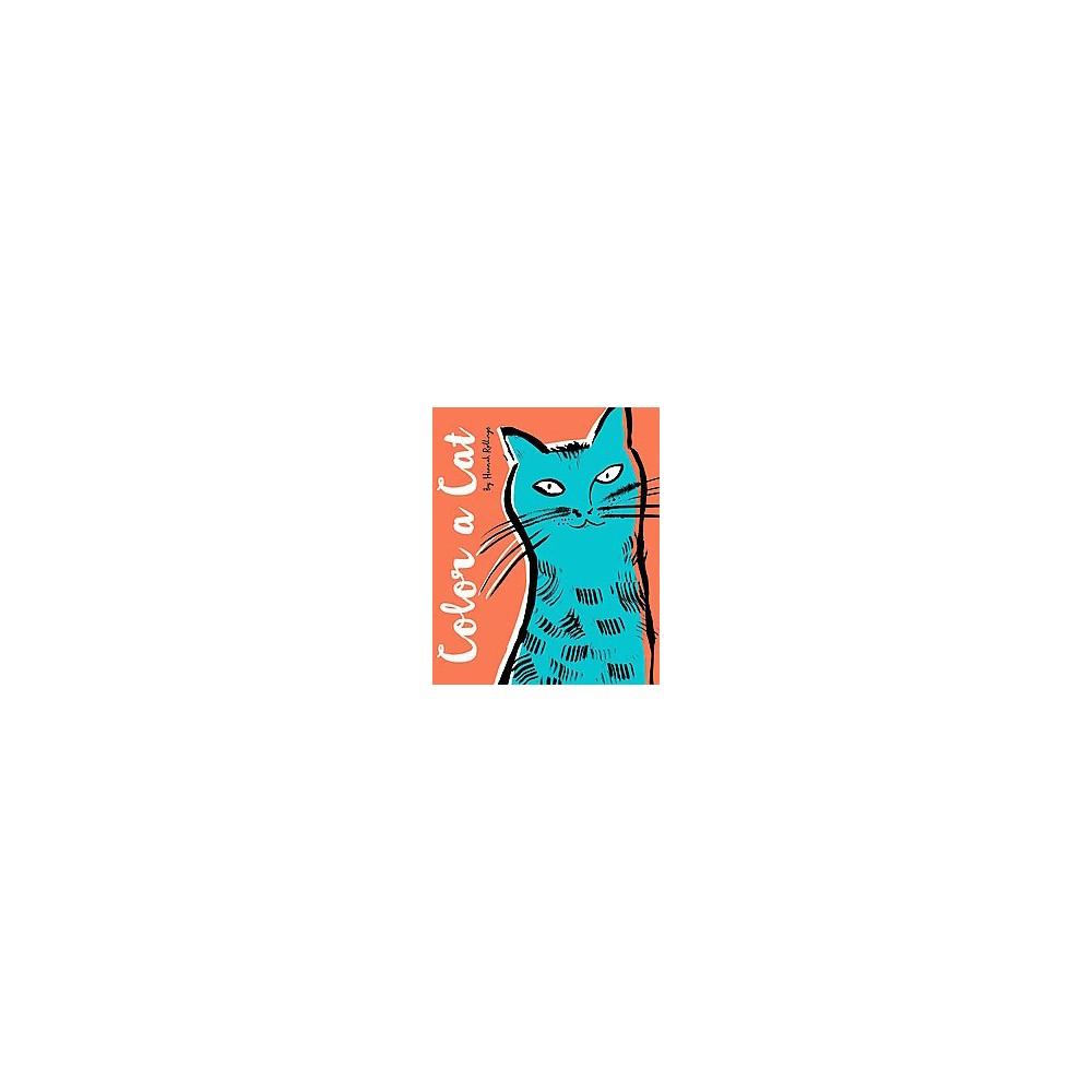 Color a Cat Adult Coloring Book