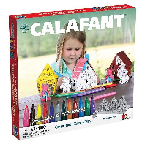 Calafant- Three Little Pigs Paper Craft Kit - image 1 of 3