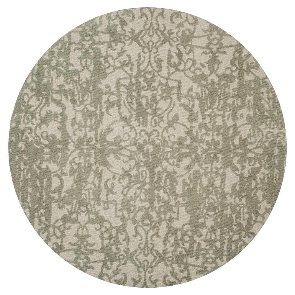 Restoration Vintage Rug - Light Sage/Gray - (6'x6' Round) - Safavieh