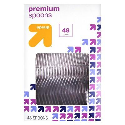 Premium Plastic Spoons - 48ct - up & up™