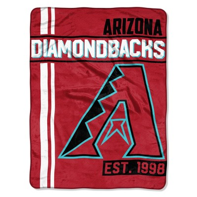 MLB Arizona Diamondbacks Micro Fleece Throw Blanket