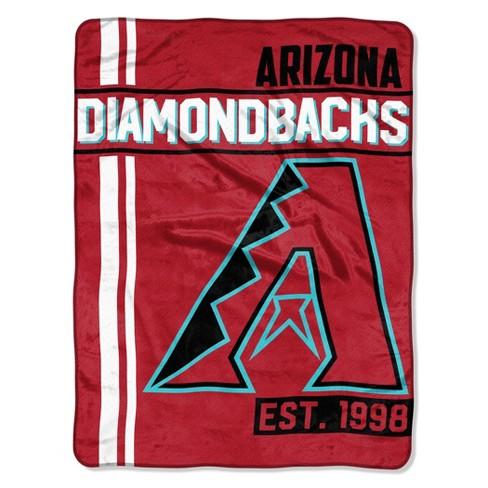MLB Arizona Diamondbacks Micro Fleece Throw Blanket - image 1 of 2