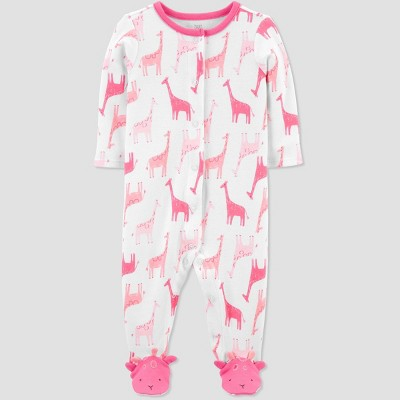 Baby Girls' Giraffe Sleep N' Play - Just One You® made by carter's Pink