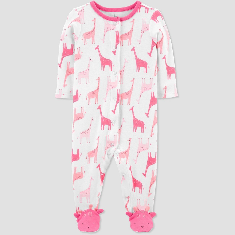Baby Girls 39 Giraffe Sleep N 39 Play Just One You 174 Made By Carter 39 S Pink 6m