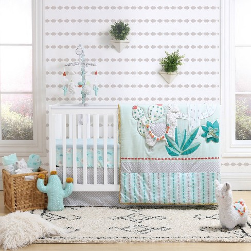 The Peanutshell Little Llama 3pc Bedding : Target
