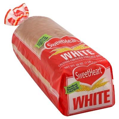 SweetHeart White Bread - 20oz