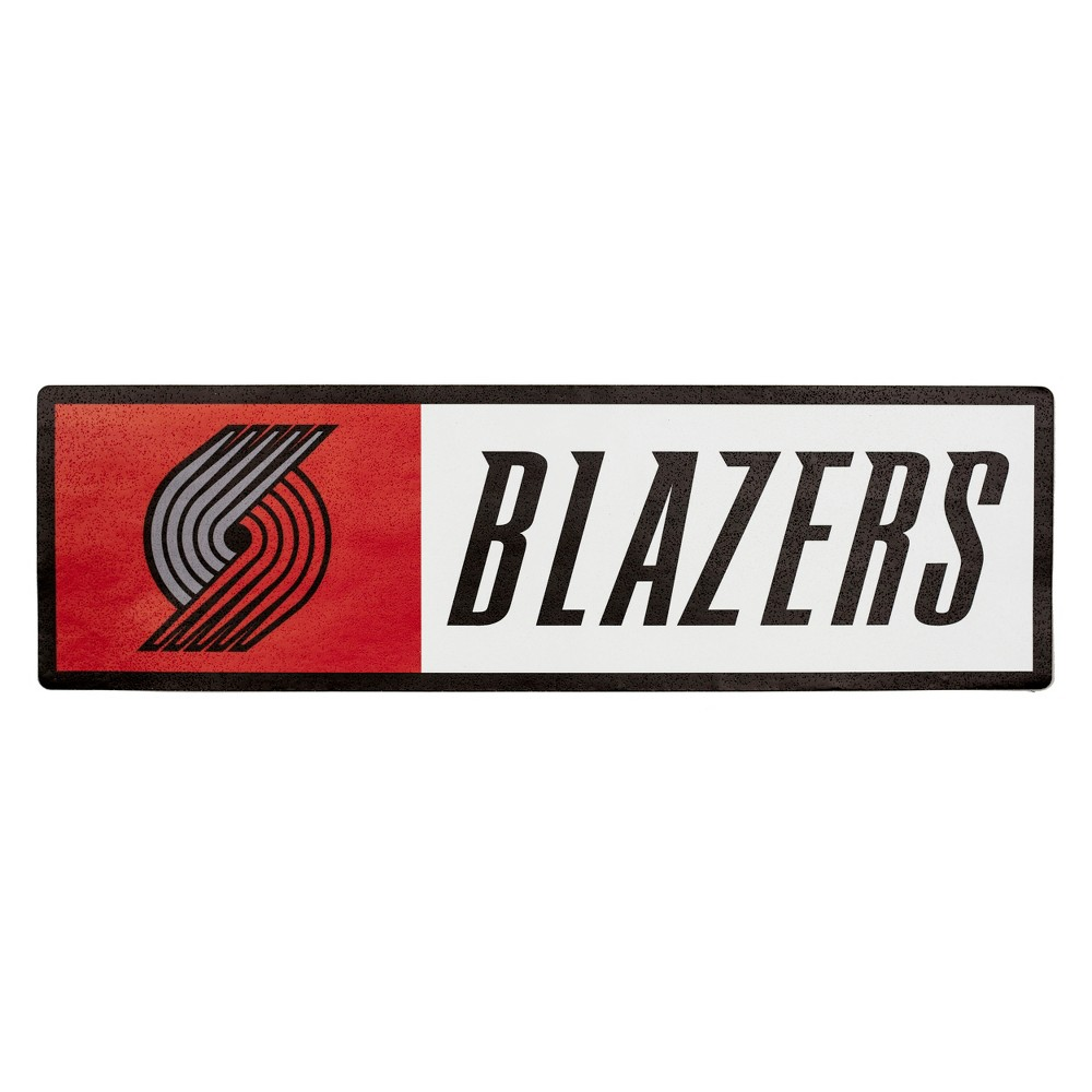 NBA Portland Trail Blazers Outdoor Step Decal