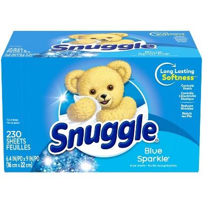 Snuggle Blue Sparkle Fresh Scent Dryer Sheets - 230ct