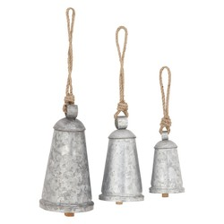 """20""""H Iron Wind Chime - Brass - Olivia & May"""