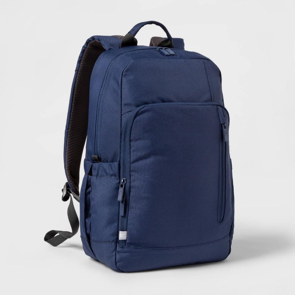 "Image of ""17"""" Basic Backpack Blue - Made By Design"""