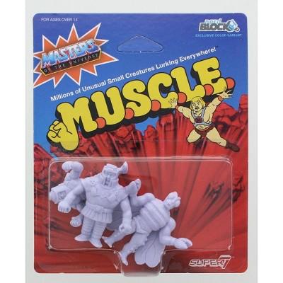 Nerd Block Masters of the Universe M.U.S.C.L.E. 3-Pack: Ram Man, Man-E-Faces, Buzz Off