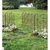 Montebello Outdoor Decorative Garden Fence, Set Of 4 Iron Fencing - Plow & Hearth - image 2 of 2
