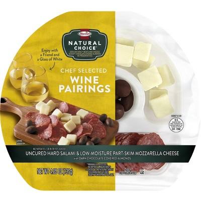 Hormel Natural Choice Salami, Mozzarella and Chocolate Almonds White Wine Pairing - 4.85oz