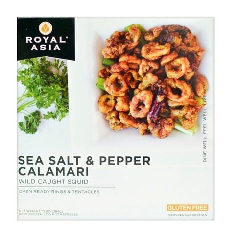 Royal Asia Gluten Free Sea Salt & Pepper Calamari - 10oz - image 1 of 1