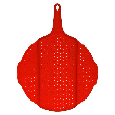 Squish Scollapsible Splatter Screen - Red