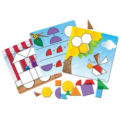 Learning Resources Shapes Don't Bug Me Geometry Activity Set - image 1 of 4