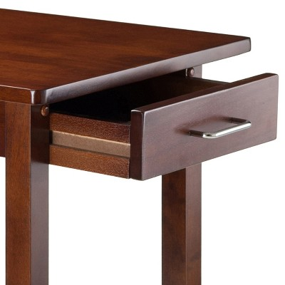 Breakfast Table Wood/Antique Walnut - Winsome