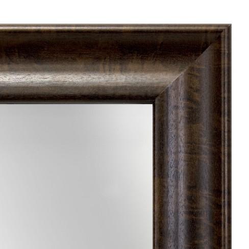 Dark Wood 13x15 Float Single Image Frame 8X10 Brown - Threshold ...
