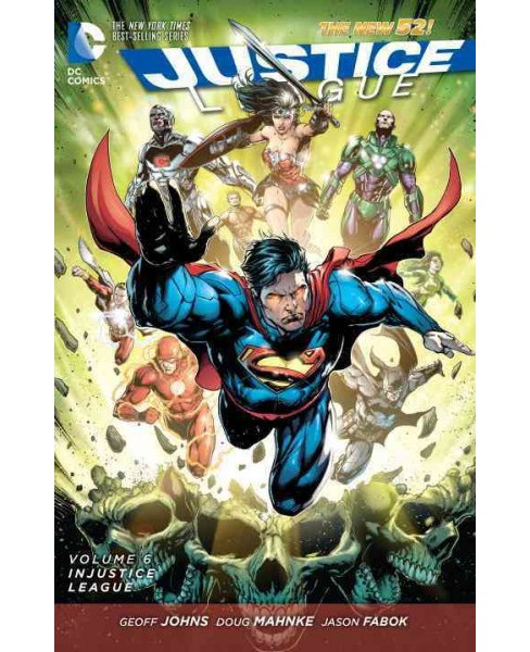 Justice League: the New 54 : Injustice League (Paperback) (Geoff Johns) - image 1 of 1