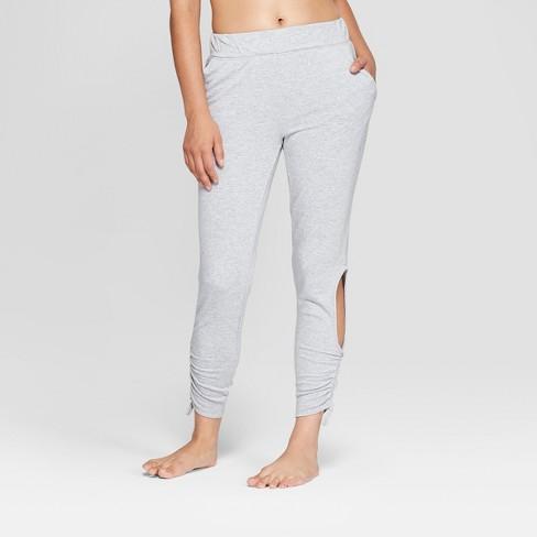 f252f4a67b070 Women s Fleece Cut - Out Jogger Pants - JoyLab  153   Target