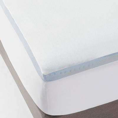 "King 2"" Cooling Gel Mattress Topper White - Made By Design™"
