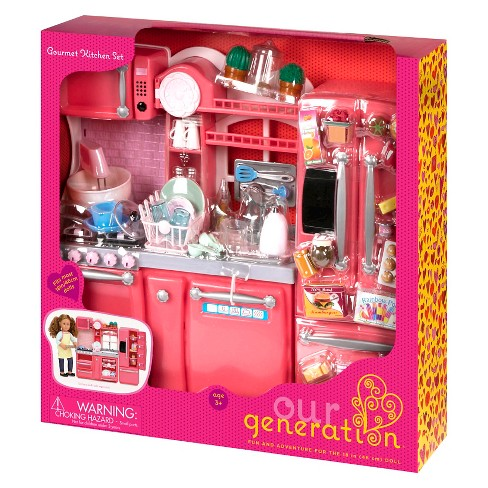 Our Generation Gourmet Kitchen Accessory Set Target